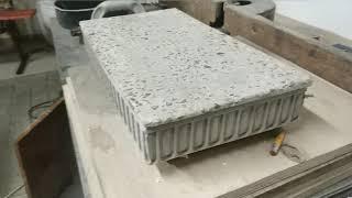 Изготовление мраморной плиты