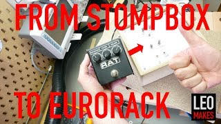 How to convert a stompbox into a Eurorack module