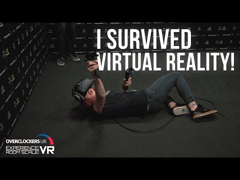 Experience the Vive by HTC at Overclockers UK!