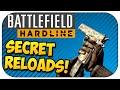 Top 8 SECRET RELOAD Animations - Battlefield Hardline