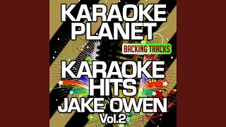 Baixar Barefoot Blue Jean Night (Karaoke Version With Background Vocals) (Originally Performed By Jake...