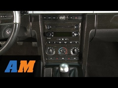 Mustang Carbon Fiber Dash Overlay Kit (05-09 All) Review