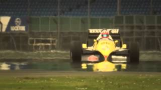 Renault RE40 tested by Romain Grosjean & Allan McNish