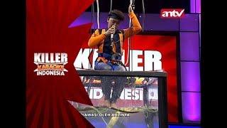 Akhirnya, Danang merasakan tantangan celup manja! – Killer Karaoke Indonesia