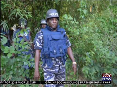 NKONYA-ALAVANYO CONFLICT; POLICE DEPLOY INVESTIGATORS TO CRIME SCENE