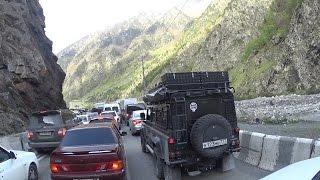 Пересечение российской границы со стороны Грузии