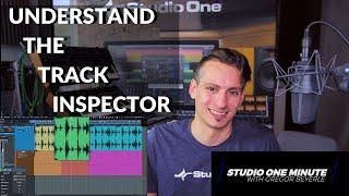 Understand the Track Inspector #StudioOneMinute