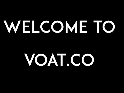WELCOME TO VOAT
