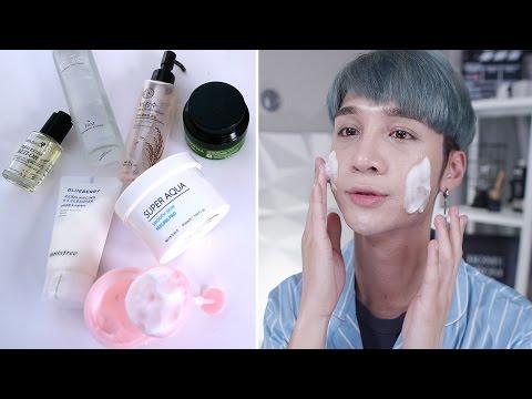 My Korean Skincare Routine - Edward Avila