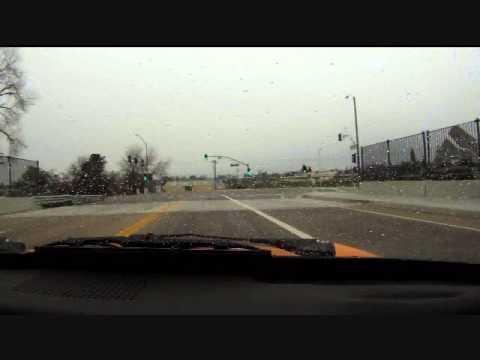 Electric Karmann Ghia Freeway Run
