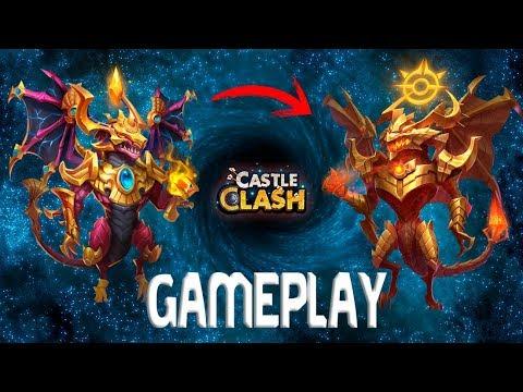 Nuevo Dragón CEFÍRICA Gameplay Evo2 13/13 | Castle Clash