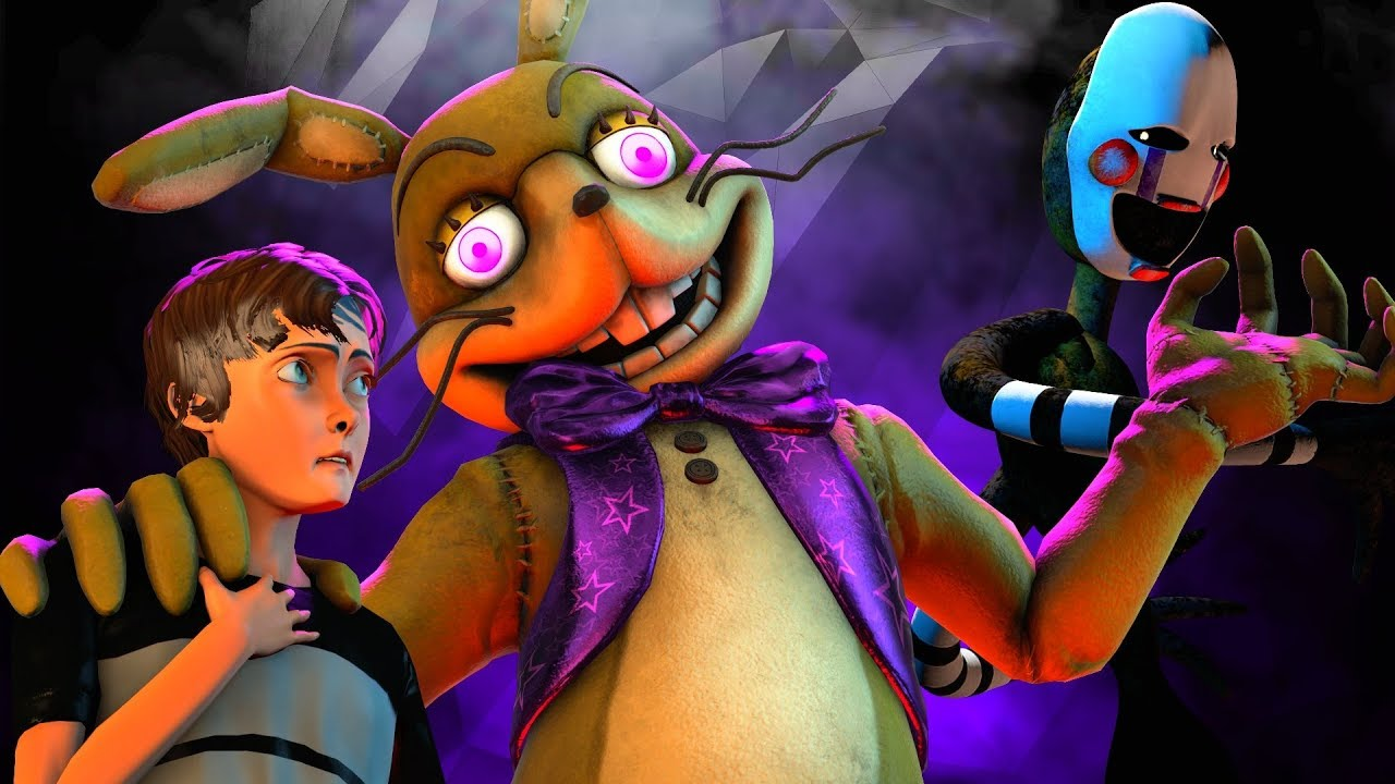Download [FNAF SFM] Glitchtraps Old Memories (Five Nights at Freddy's Animation)