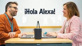¡Hola Alexa! Una personalidad local que brilla con luz propia