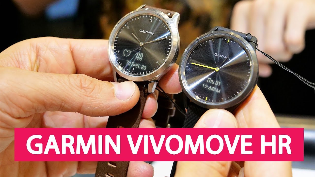 455848ee3 Fashionably fit is just a tap away with vívomove HR. This stylish hybrid  smartwatch features a touchscreen with a hidden display. Real watch hands  show the ...