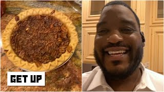 Inside Damien Woody's Thanksgiving Day meal prep | Get Up