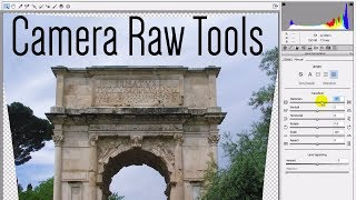 Photoshop CC: Camera Raw Tools - Upright, Radial Filter, Updated Spot Healing