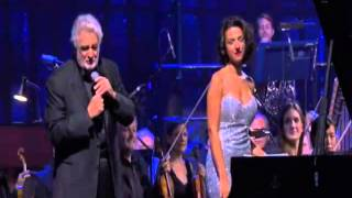 Khatia with Great Placido Domingo in London