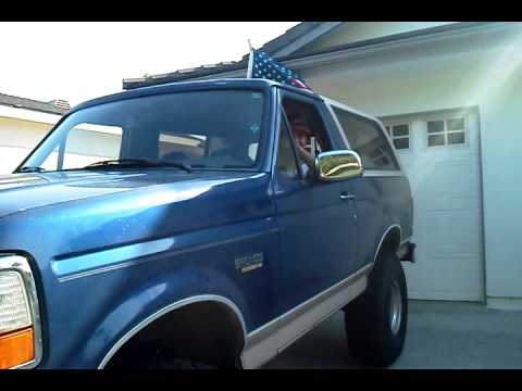 PA System in Truck (Ford Bronco) 4th of July 2012