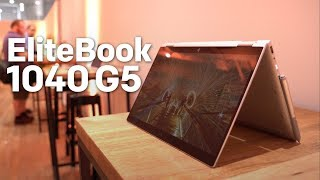 HP EliteBook 1040 G5 hands-on: A productivity machine with a rechargeable pen