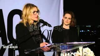Jillian Dempsey about Kristen Stewart at #MCImageMakers