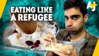 What's It Like To Live Off Refugee Rations? | AJ+