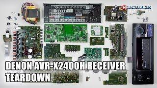 видео Denon AVR-X2400H, купить AV ресивер Denon AVR-X2400H