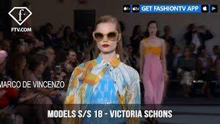 Victoria Schons Models Spring/Summer 2018 | FashionTV | FTV