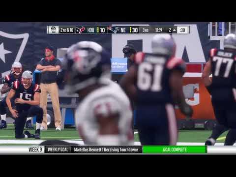 Martellus Bennett one handed TD catch - Madden NFL18