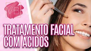 Benefícios e Restrições dos Ácidos Para Tratamento Facial