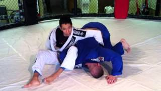 Tech. of the Week: Omoplata to Leg Drag from the Mount