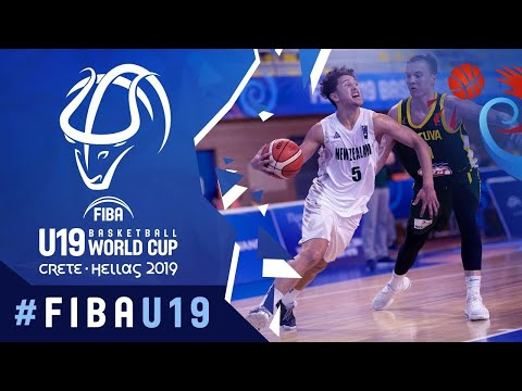New Zealand v Lithuania - Full Game - FIBA U19 Basketball World Cup 2019