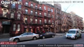 Video Tour di una casa vacanza-monolocale a Hell's Kitchen, Manhattan, New York