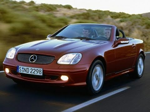 How to locate the fuse panel in Mercedes SLK Car-addiction - YouTube