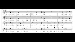 Hans Leo Hassler - Cantate domino (score)