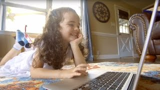 """""""I've watched my daughter get interested in learning..."""" - ABCmouse.com Parent Testimonials thumbnail"""