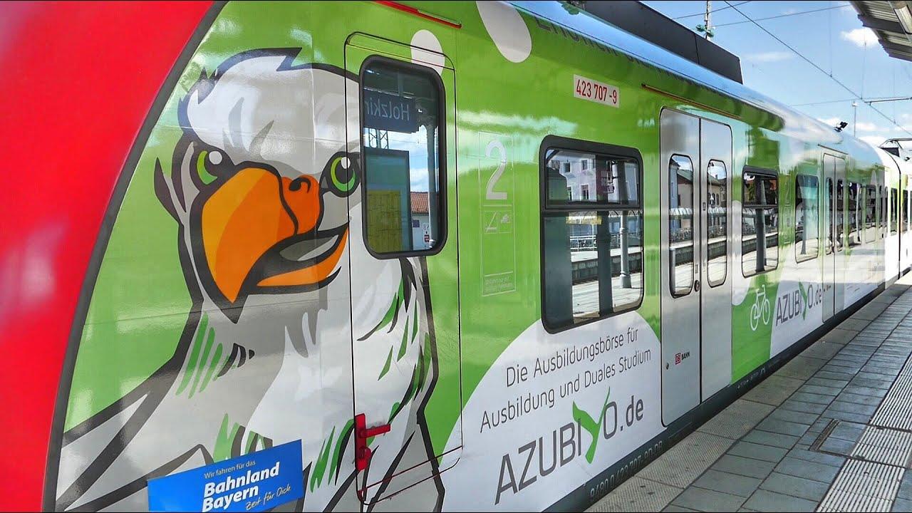 S Bahn München Werbezug Azubiyo In Holzkirchen Youtube