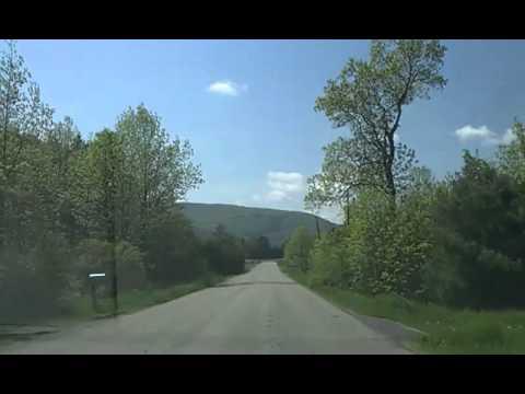 Riding in the car with Alexis around WIllsboro, NY