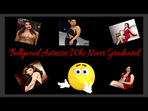 Bollywood Actresses Who Never Graduated