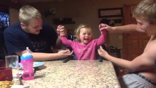 Repeat youtube video Tickling Baby sister