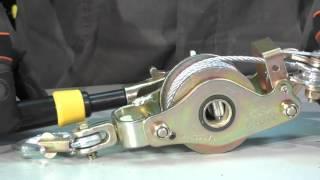 Лебедка ручная с блоком (1500кг) SHTOK — Обзор
