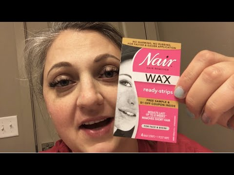 Painful Nair Ready Strips Waxing Youtube