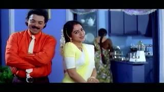 Intlo Illalu Vantintlo Priyuralu Full Movie | Venkatesh | Soundarya | Part 10 | Shemaroo Telugu