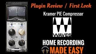 Plugin Review - Waves PIE Compressor - Presonus Studio One