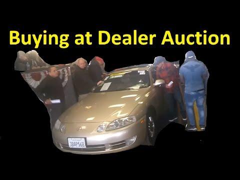 BUYING A CAR AT WHOLESALE DEALER AUCTION ~ CLASSIC LEXUS