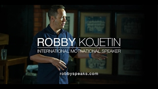 Robby Kojetin | International Motivational Speaker