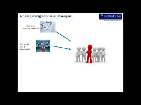 Webinar: The Sales Manager's Dilemma - Too Busy To Get Better