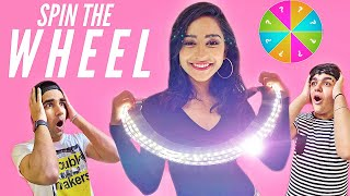 SPIN THE WHEEL CHALLENGE WITH BROTHER & SISTER PART 2 | Rimorav Vlogs