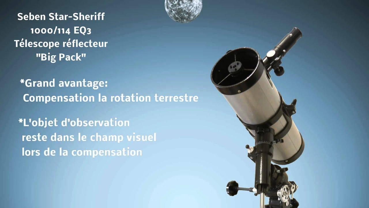 Telescope seben réflecteur test avis et conseils avant achat