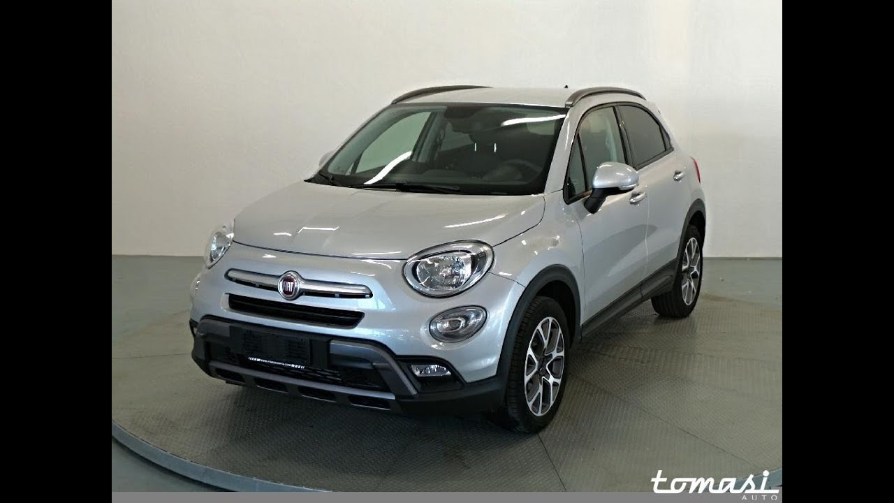 fiat 500x 1 6 multijet 120 cv cross - argento