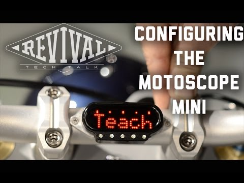 Configuring the Motoscope Mini - Revival Cycles Tech Talk